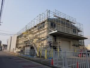 倉庫改修工事2